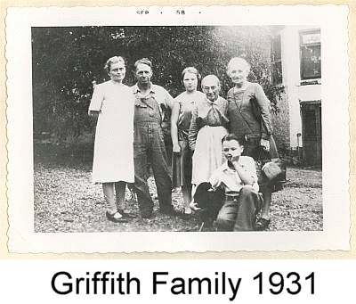 Griffith Family - 1931