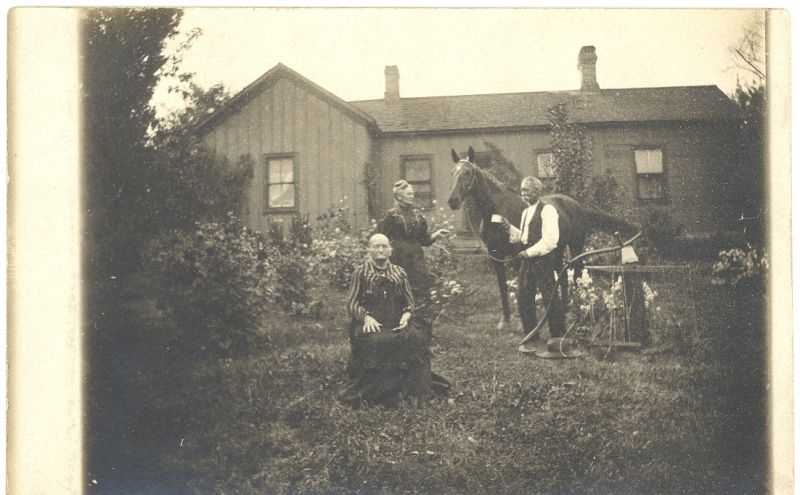 Tom Gainey's Home 1900s
